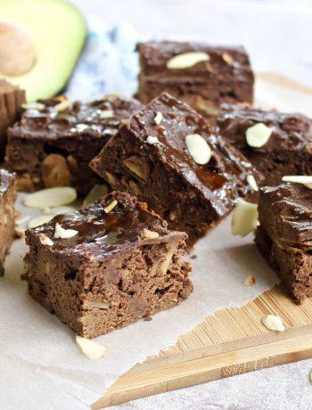 Fudgy chocolate flourless brownies