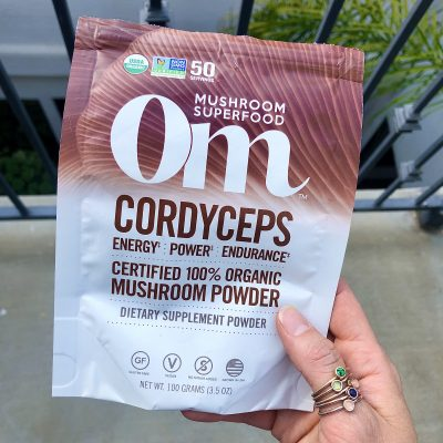 Supplements for energy and better digestion - Cordyceps